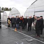 Delegaci WZ LIR podczas zwiedzania Lubuskiego Ośrodka Innowacji i Wdrożeń Agrotechnicznych w Kalsku