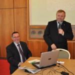 Wiktor Szmulewicz – prezes KRIR oraz wiceprezes organizacji rolniczych COPA-COGECA w Brukseli podczas wystąpienia