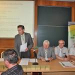 Zarząd Lubuskiej Izby Rolniczej. prezes W. Piasecki otwiera posiedzenie