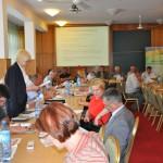 Główna księgowa - Ewa Drebszok przedstawia sprawozdanie finansowe za 2011 rok i budżet na 2012 rok