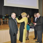 Czesław Hładki odbiera Brązowy Krzyż Zasługi