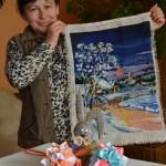 wyszywanie oraz origami to jedne z pasji Pani Adeli