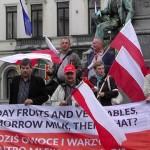 PROTEST POLSKICH ROLNIKÓW W BRUKSELI