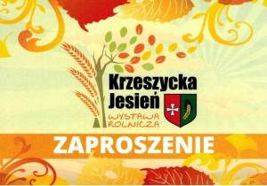 """XX WYSTAWA ROLNICZA """"KRZESZYCKA JESIEŃ"""""""