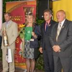 Beata Lewandowska z mężem - laureaci