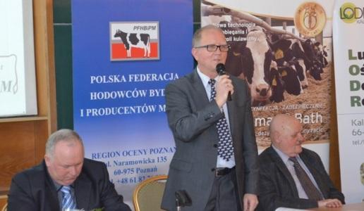 Prezes LZHB Stanisław Zawadzki otworzył spotkanie