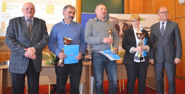 Nagrodzeni w kategorii Stado do 20 krów