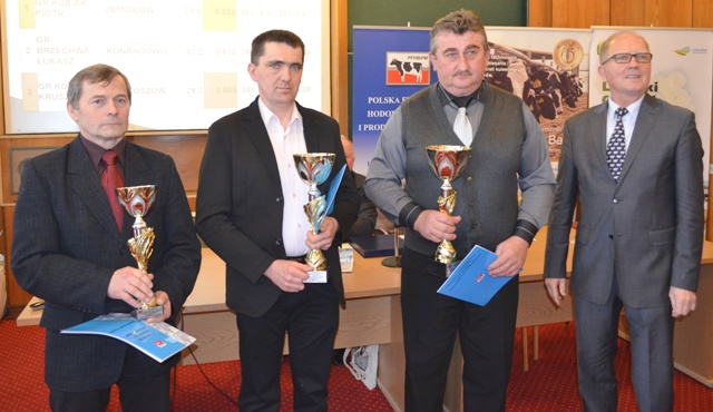Nagrodzeni w kategorii Stado 20 – 50 krów
