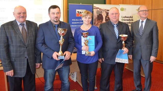 Nagrodzeni w kategorii Stado 50 – 150 krów