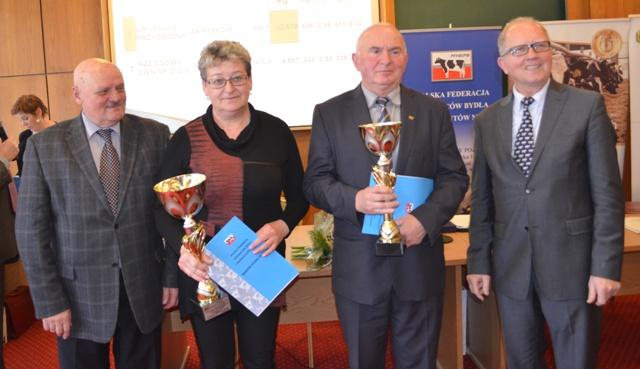 Nagrodzeni w kategorii Stado 150 – 300 krów
