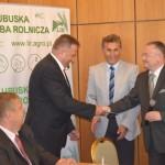Gratulacje od Dyrektora OT ANR w Gorzowie Wlkp. T. Mozejko