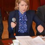 D. Bancewicz z Departamentu Rolnictwa UM