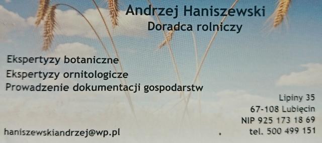 Dane Andrzej Haniszewski