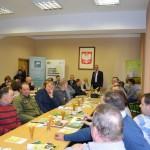 Dominik Sporny z-ca kierownika Biura Działań Społecznych i Środowiskowych oraz Płatności Bezpośrednich