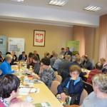 Andrzej Kuziemski i Greta Boguszewska-Drapa dziękują za udział w spotkaniu