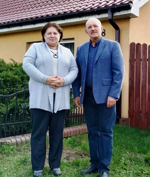 Helena i Czesław Golińczak